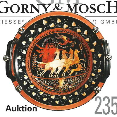 GORNY & MOSCH Antiquities Auction 235 Greek Vases,Roman marble,etc.12/15 Catalog