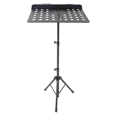 Foldable Height Adjustable Folding Music Orchestral Book Holder Tripod Mic Stand