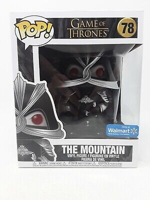 Funko Pop! THE MOUNTAIN 78 WALMART Exclusive Game Of Thrones