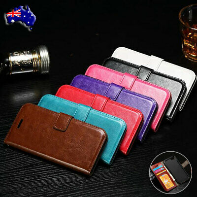 For iPhone 11 Pro Max Xr 6s 7 8 Wallet Case Shockproof Flip Leather Stand Cover
