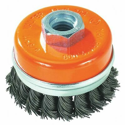 """Walter Surface Technologies Knot Wire Cup Brush, 0.020"""" Dia.   13G304 13G304  -"""