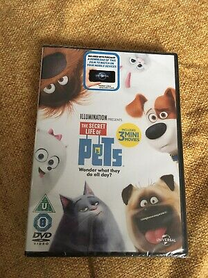 Secret Life Of Pets DVD Brand New And Sealed