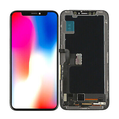IPhone X XR Xs Max OLED LCD Display Touch Screen Digitizer Assembly Replacement