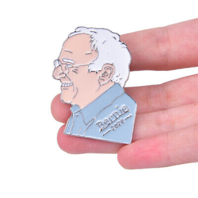 Bernie Sanders for Pressident 2020 USA Vote Pin Badge Medal Campaign BrooUF