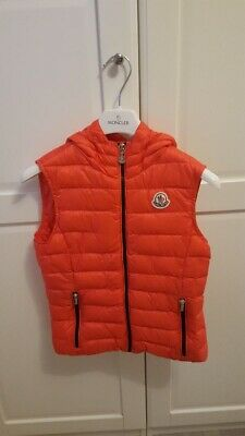 Genuine Girls Hooded Moncler Gilet Age 12