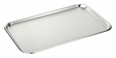 Medical Action Industries Inc Shallow Tray 5/8X12.5X19, SS  Stainless Steel