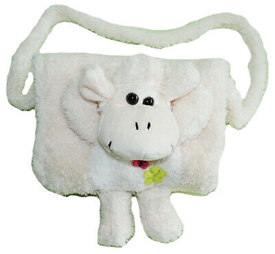 """Soft Muff - """" Sheep in White """" - with Extra Bag - for Warm Hands - Children K"""