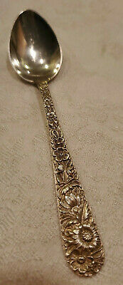 "Repousse by Kirk & Son Sterling Silver Spoon  5 7/8"" 30.01g"