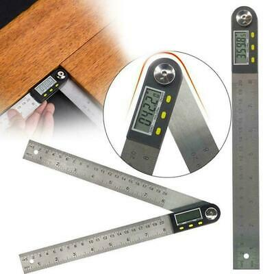Stainless steel two-in-one electronic digital protractor ruler angle woodwo H0L4