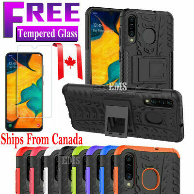 For Samsung Galaxy A20 A30 A50 A70 Heavy Duty Kickstand Rugged Strong Case Cover