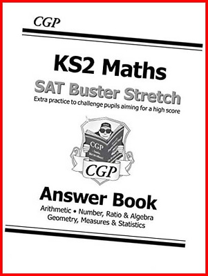 KS2 Maths SAT Buster Stretch: Answer Book for the 2020 tests CGP KS2 Maths SATs