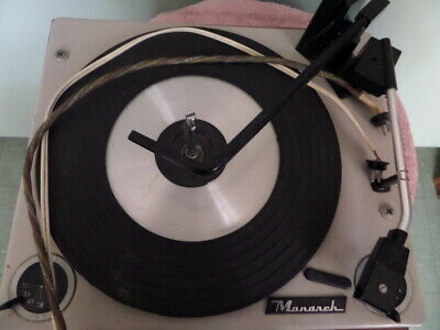 Vintage Radio turntable  - Monarch  BSR  ex order !