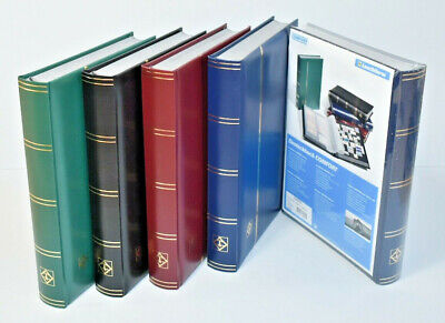 Deluxe Lighthouse Quality Stock Book - Padded cover 64 Black Pages A4 - SAVE 20%