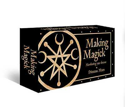 BOOK NEW Making Magick: Manifesting your dreams by Moon, Priestess (2019)