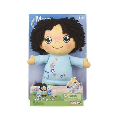 Moon And Me Talking Pepi Nana Plush Toy Talks Brand New