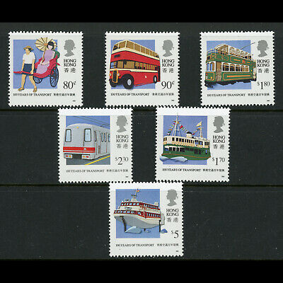 HONG KONG 1991 Public Transport. SG 667-672. Mint Never Hinged. (WD162)