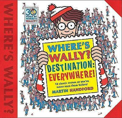 BOOK NEW Where's Wally? Destination: Everywhere! by Handford, Martin