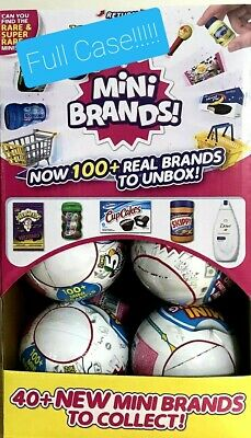 5 SURPRISE! MINI BRANDS *FULL BOX OF 12 BALLS + 1 Bonus Ball=13!* MADE BY ZURU*