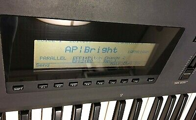 Used SY99 Yamaha Keyboard Synthesizer Hybrid Synth with FM and AWM Sound Sources