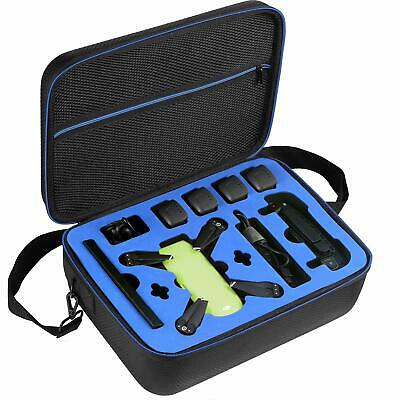 For DJI Spark Fly More Combo Drone Case Fit 4x Batteries Controller Charging Hub