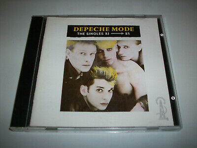 DEPECHE MODE - THE SINGLES 81-85 CD (1985 original)