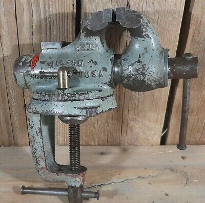 """Wilton 2"""" baby bullet vice unrestored in near perfect condition. EXTREMELY RARE!"""