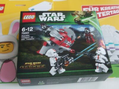 LEGO Star Wars 75001 Republic Troopers* NEU&OVP//new&factory sealed