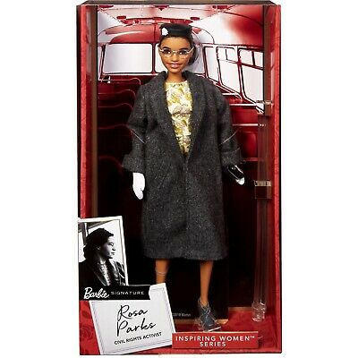 Barbie® Inspiring Women™ Series Rosa Parks Doll NEW