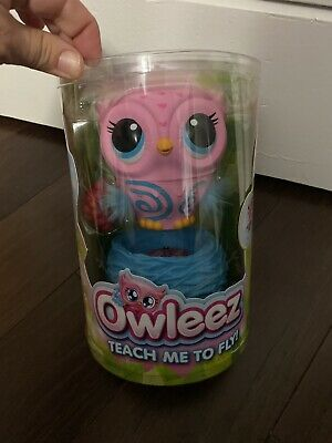 Owleez (Pink) Interactive Flying Drone Owl Pet Helicopter Toy