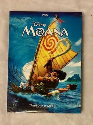 Moana Disney DVD Only Brand New Free Shipping Rated PG