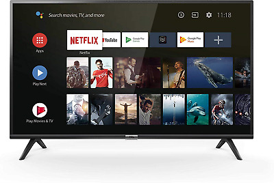 TCL 32ES568 32 Inch HD HDR Smart TV powered by Android - Black 2019 Model