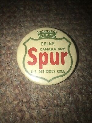 Drink Canada Dry Spur Cola Pin