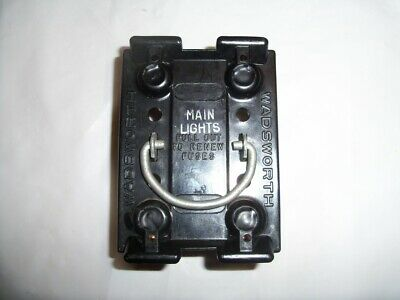 Wadsworth 60amp Fuse Base 8038-1 Vintage Block for Fuse Holder Pullout Home  & Garden Electrical Circuit Breakers & Fuse Boxes ayianapatriathlon.comAyia Napa Triathlon