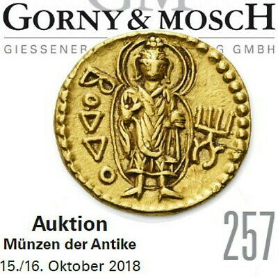 GORNY & MOSCH Ancient Greek, Roman Coin Auction 257 Catalog Oct 15 2018 in Color