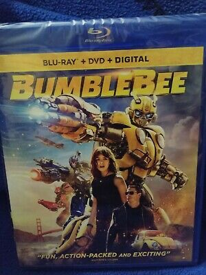 Bumblebee Transformers - Blu Ray, Dvd, Digital Brand New!