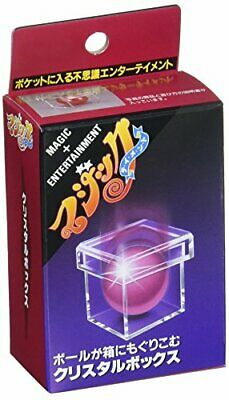 Tenyo Magic Crystal Box Magic Entertainment Magic Trick Japan JP
