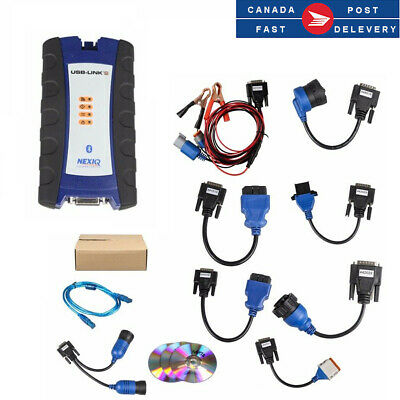 NEXIQ-2 Bluetooth USB Link Diesel Truck Doagnostic Scan Tool With All Installers