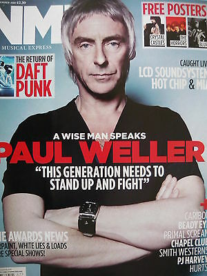 Nme 27/11/10 - Paul Weller - Pj Harvey - The Kinks