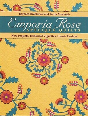 Patchwork/Quilting/Applique Book EMPORIA ROSE ~ Barbara Brackman & Karla Menaugh