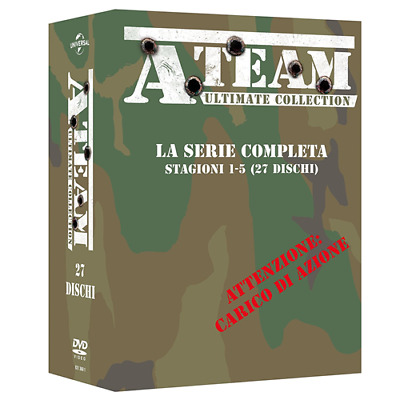 STV * A-TEAM - Ultimate Collection - Serie Completa - Stagioni 1-5 (27 Dvd) *