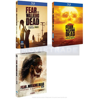 STV *** FEAR THE WALKING DEAD - Stagioni 1-2-3 (9 Blu-ray) *** sigillato