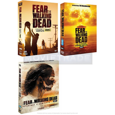 STV *** FEAR THE WALKING DEAD - Stagioni 1-2-3 (9 Dvd) *** sigillato