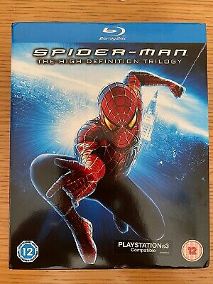 Spider-Man The High Definition Trilogy - UK Blu-ray boxset