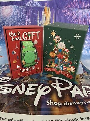 Disney Epcot Festival Of The Holidays Chip & Dale Magic Band MagicBand Limited
