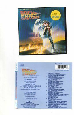 Back To The Future Cd Soundtrack Music By Alan Silvestri & Various Artists
