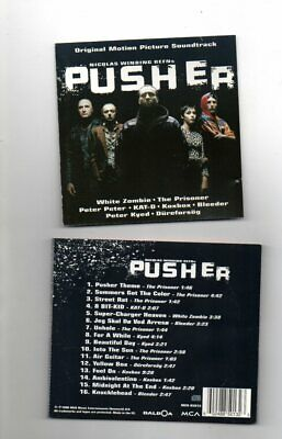 Pusher Cd Soundtrack Music By Various Artists