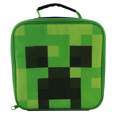 Minecraft - Creeper Lunch Box - Loot - BRAND NEW