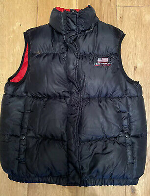 Ralph Lauren Navy Body Warmer Kids Medium