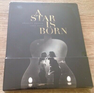 A Star Is Born 2018 Blu-Ray FilmArena Steelbook New & Factory Sealed
