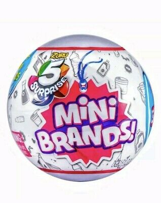 Zuru Mini Brands Collection 5 Surprise Mystery Blind Capsule Ball Set Of 2